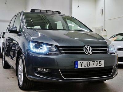 begagnad VW Sharan TDI Premium Panorama7-sits D-Värmare Drag 150hk