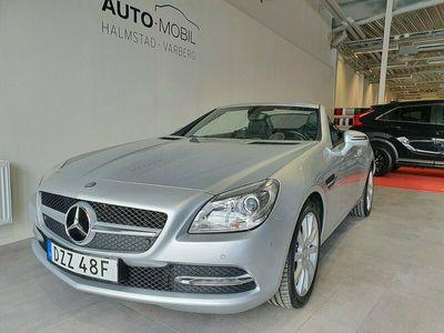 begagnad Mercedes SLK200 Cab Aut Panorama Svart skinn