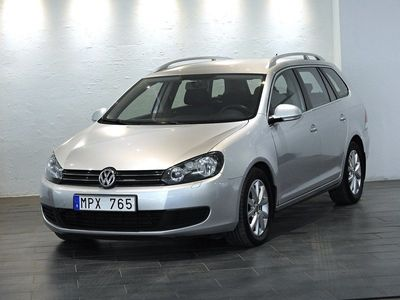 begagnad VW Golf 1.6 TDI / BlueMotion / Dragkr