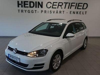 używany VW Golf Variant Parkeringsvärmare+fjärr 1.6 TDI BlueMotion DSG 110hk