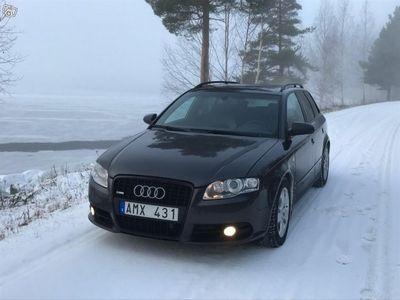 begagnad Audi A4 2,0 tdi quattro S-line -08