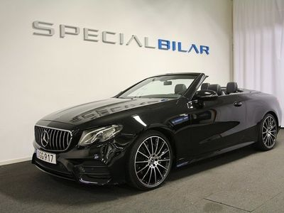 begagnad Mercedes E200 E BenzCabriolet AMG Navi 2018, Cab 449 000 kr