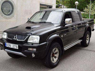 begagnad Mitsubishi L200 Double Cab Momsbil 2.5 TD 4WD -06