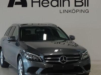 begagnad Mercedes C220 d Avantgarde Dragkrok Tonade rutor