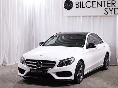 begagnad Mercedes C220 d AMG Night Package Euro 6 170hk
