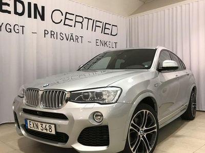 begagnad BMW X4 xdrive30d m sport taklucka drag 2015, SUV 329 900 kr