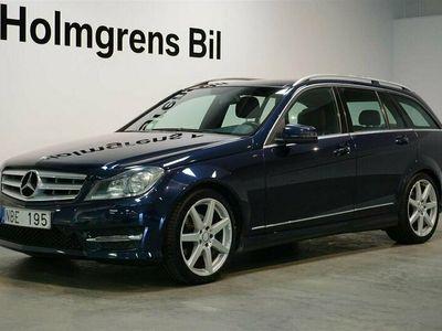 begagnad Mercedes C220 T CDI Aut AMG Panorama Navi Drag