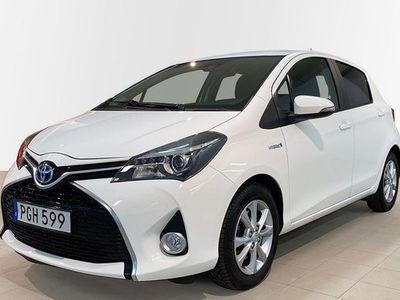 begagnad Toyota Yaris Hybrid 1.5 HSD 5-D INTENSE EDITION 2017, Halvkombi 144 900 kr