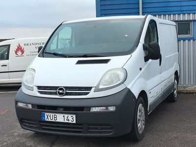 begagnad Opel Vivaro Van 1.9 dCi 101HK/18500Mil