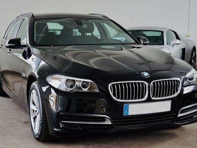 begagnad BMW 520 d Touring Drag Euro 6 190hk