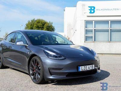 begagnad Tesla Model 3 Performance Single Speed, 460hk
