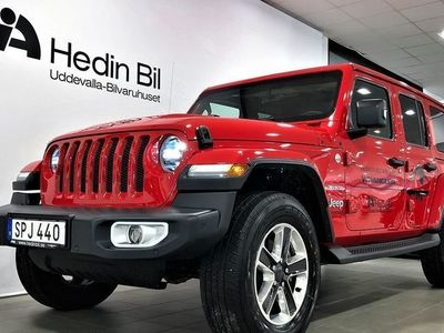 begagnad Jeep Wrangler Unlimited DEMO 2.0 eTorque 4WD LOW5 Automat 2018, SUV 579 900 kr