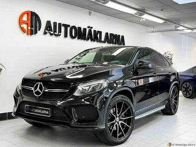 begagnad Mercedes GLE350 4-MATIC COUPE AMG, Night Pack 258HK