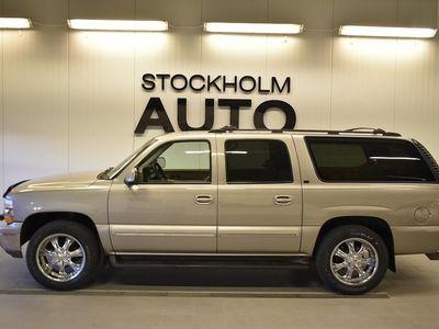 begagnad Chevrolet Suburban 1500 5.3 V8 FlexFuel AWD 7-sits 2002, SUV 89 900 kr