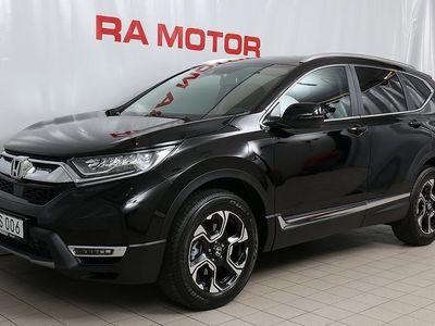 begagnad Honda CR-V 1,5 Lifestyle 7-Sits Navi Automat -19