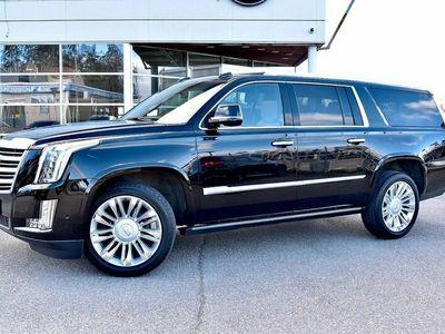 begagnad Cadillac Escalade ESV 6.2 V8 426HK PLATINUM EDITION 7SITS