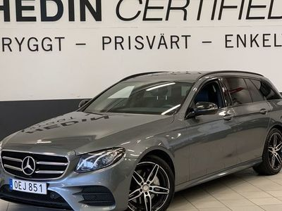 brugt Mercedes E220 194Hk 9G-Tronic AMG Värmare