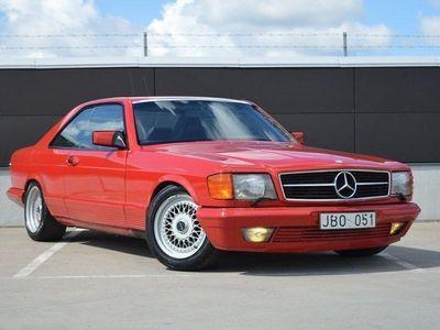 brugt Mercedes 500 SEC Automat 231hk / Svensks -85