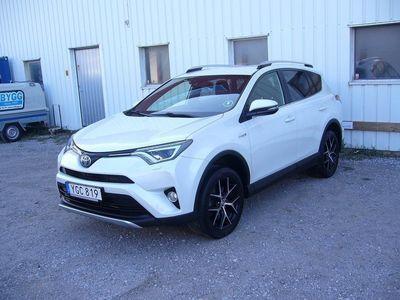 begagnad Toyota RAV4 2,5 Hybrid AWD Gotlandskörd -16