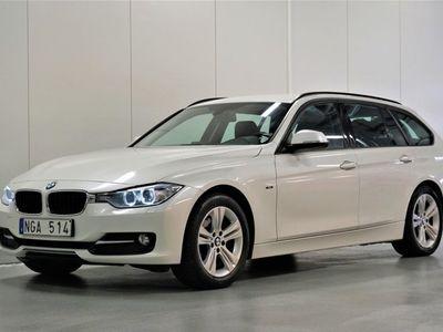 begagnad BMW 320 d Touring Sport Line Drag S&V, 184hk