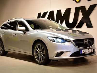 begagnad Mazda 6 6 2.5 SKYACTIV-G Aut | OPTIMUM | Euro