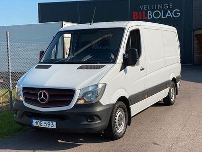 begagnad Mercedes Sprinter 316 BlueTEC Skåpbil Panel Van 163hk