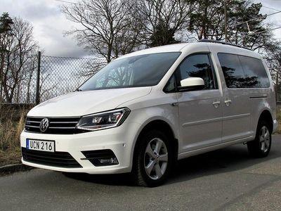 begagnad VW Caddy Maxi Life 2.0TDI 150hk 4M Aut 7-sits