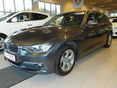 begagnad BMW 318 d xDrive Touring, Luxury line,