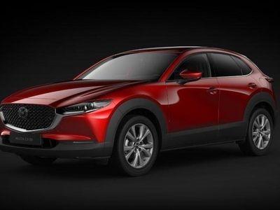 begagnad Mazda CX-30 A6 2.0 Cosmo AWD Off-White Skinnklädsel 2019, SUV 350 400 kr