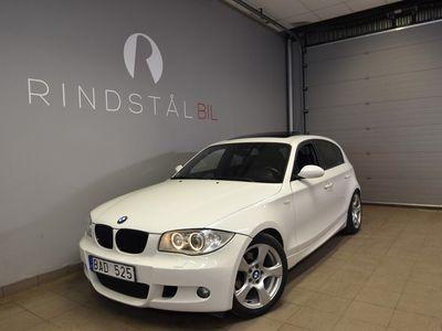 begagnad BMW 120 d 163 HK E87 AUT M-SPORT NYBES