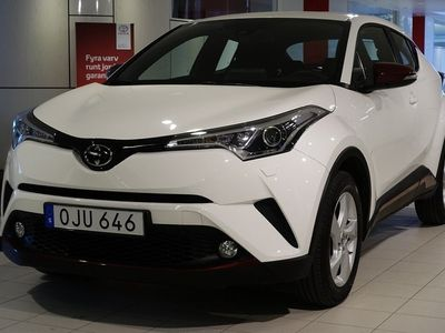 usata Toyota C-HR 1.2T MAN 2WD ACTIVE COLOUR PACK V-HJUL BACKKAMERA