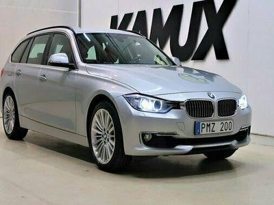 begagnad BMW 330 d xDrive Luxury Line | Skinn | Navi | SoV | 2014, Kombi Pris 209 800 kr