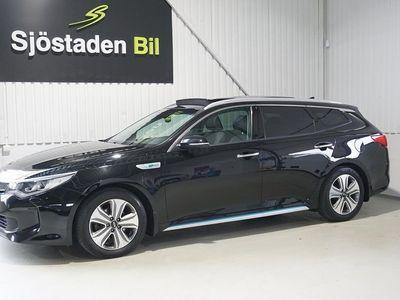 begagnad Kia Optima Hybrid Sport Wagon Plug-in SW P-hev Komf Plus 2 Panorama