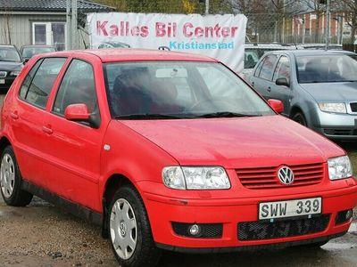 begagnad VW Polo 5-dörrar 1.4 Comfort 75hk