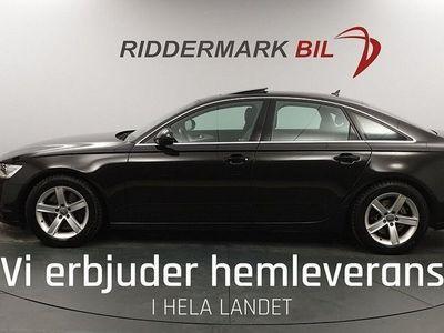 begagnad Audi A6 Sedan 245hk hybrid Skinn Navi Nyservad