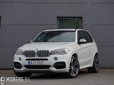begagnad BMW X5 M50d 381hk M Sport Pano Nightvision