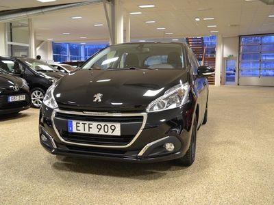 brugt Peugeot 208 5-dörrar 1.2 VTi Euro 6 82hk