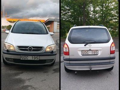 begagnad Opel Zafira 7-sits comfort 1,6 besiktad