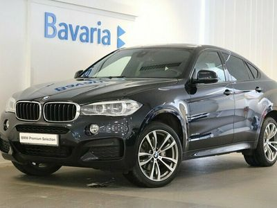 begagnad BMW X6 xDrive30d M Sport Drag El glastaklucka Harman kardon