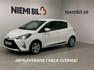 begagnad Toyota Yaris 1.5 VVT-i STYLE 111hk MoK Backkamera Låg Skatt