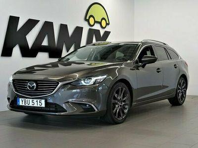 begagnad Mazda 6 62.2 | AWD |Optimum | Bose | Navi | Skinn | 2016, Kombi Pris 184 900 kr