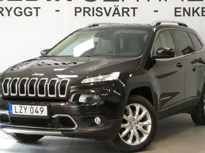 begagnad Jeep Cherokee 2.2D Limited 4WD AT
