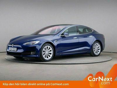 begagnad Tesla Model S 75d AWD Panorama Premium Luftfjädring
