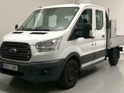begagnad Ford Custom TransitFlak 330 Dubbelhytt