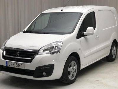 begagnad Peugeot Partner 1.6 BlueHDI Skåp 2016, Transportbil 68 000 kr