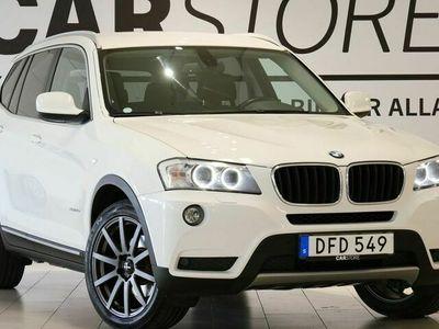 begagnad BMW X3 xDrive20d Steptronic Drag 184hk