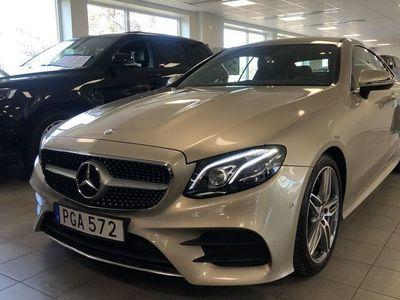 begagnad Mercedes E200 Coupé AMG-Paket S/V-Hjul