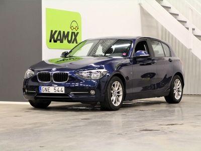 begagnad BMW 118 d 5-door Sportline SoV 143hk 2013