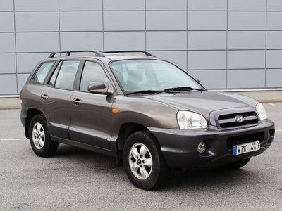 begagnad Hyundai Santa Fe 2.4 4WD 145hk Dragkrok AC Svensksåld