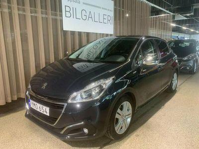 begagnad Peugeot 208 Style 5-dörrar 1.2 82hk panorama